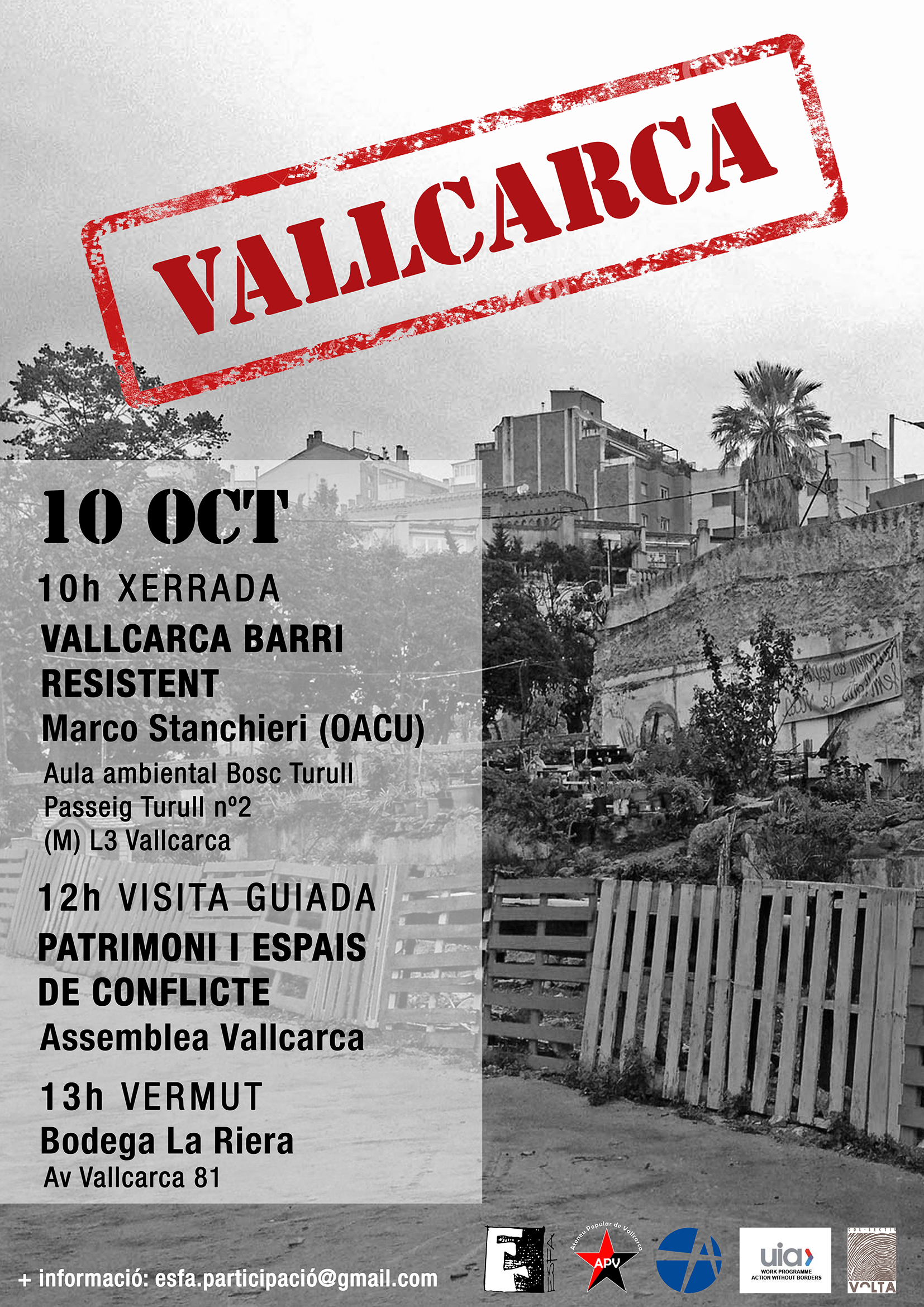 Cartell Vallcarca 10 10 Mail