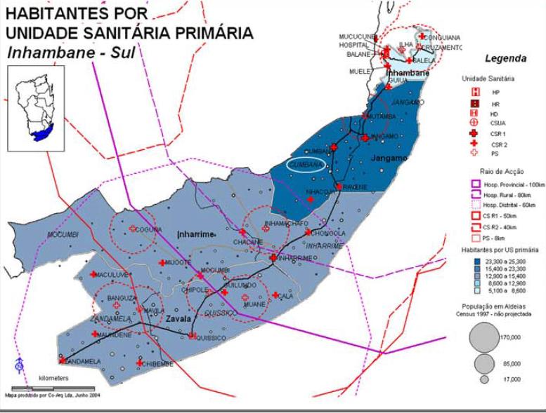 Xarxa Sanitària De La Direcció Provincial De Salut D'Inhambane 2