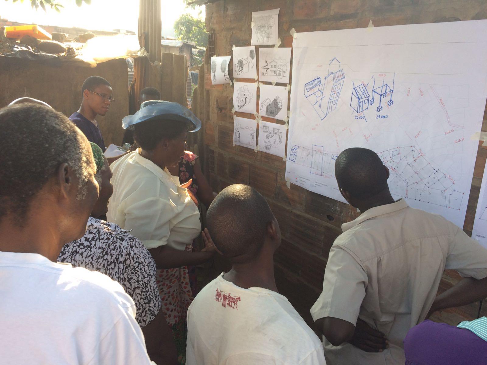 El Quarteirão 18 Del Barrio De Chamanculo C Aprueba Su Plano De Ocupación 7