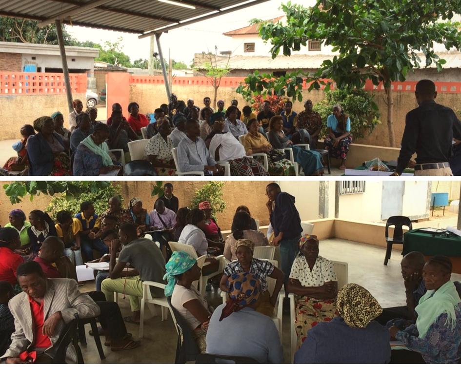 Sessió D'urbanisme Participatiu A Chamanculo C: Decidim El Futur Plànol D'ocupació