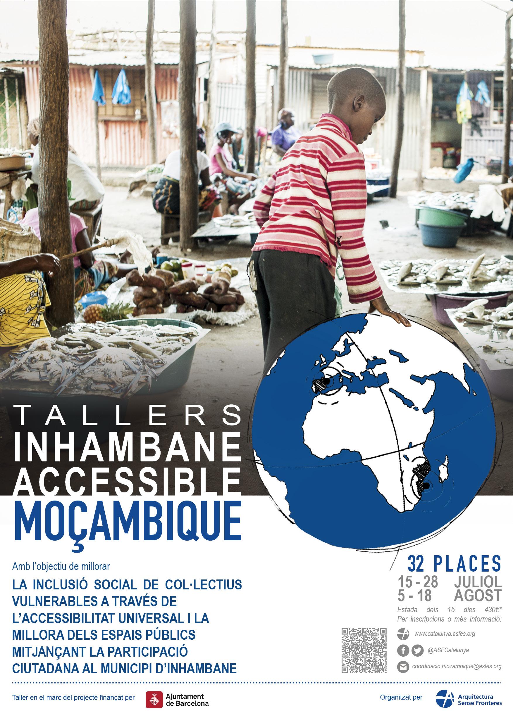 Voluntariat Estiu 2018: Vols Participar En Un Taller D'accessibilitat A Moçambic?