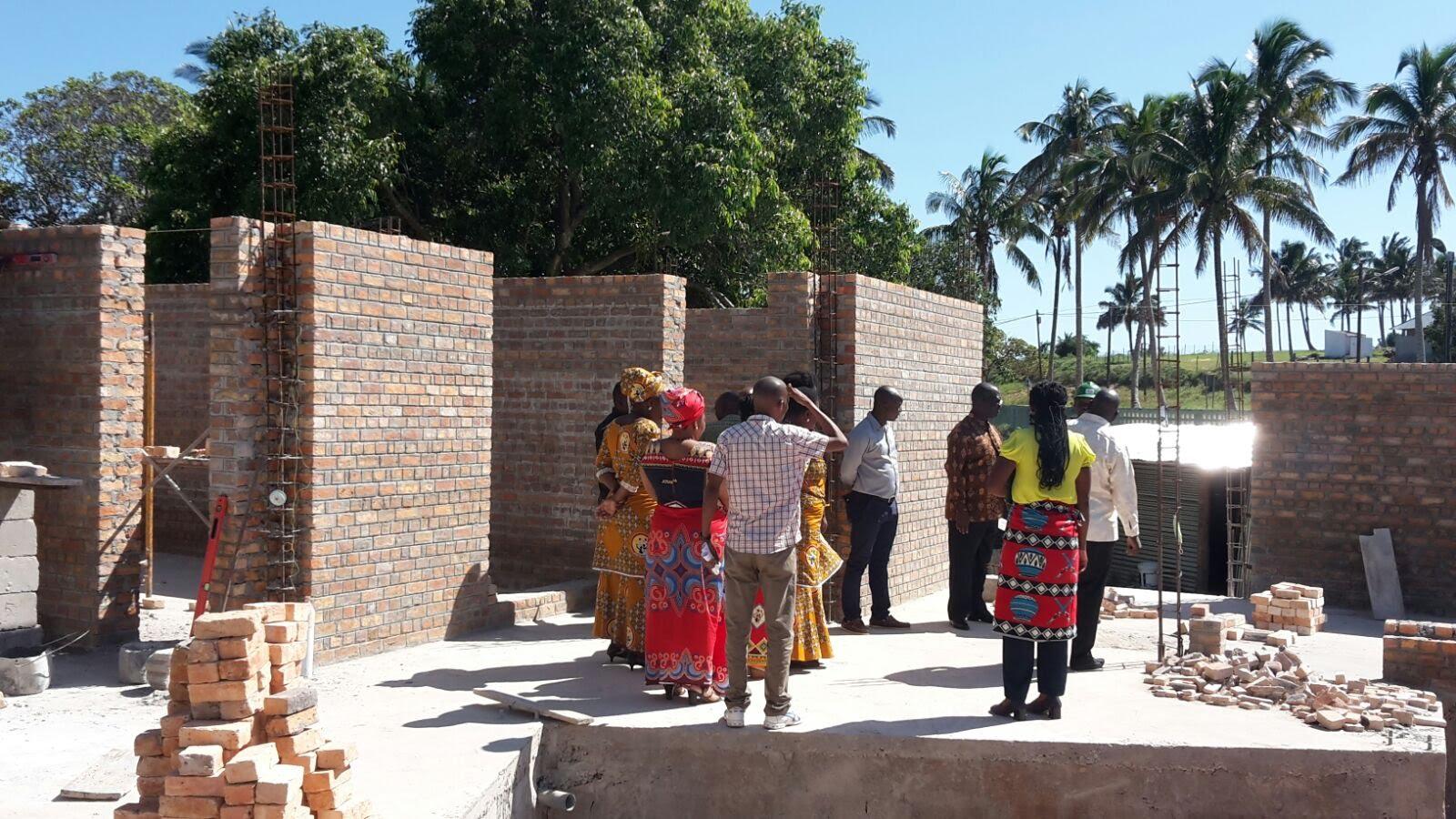 Construcció Del Centre D'Atenció Integral A Quissico, Districte De Zavala, Moçambic.
