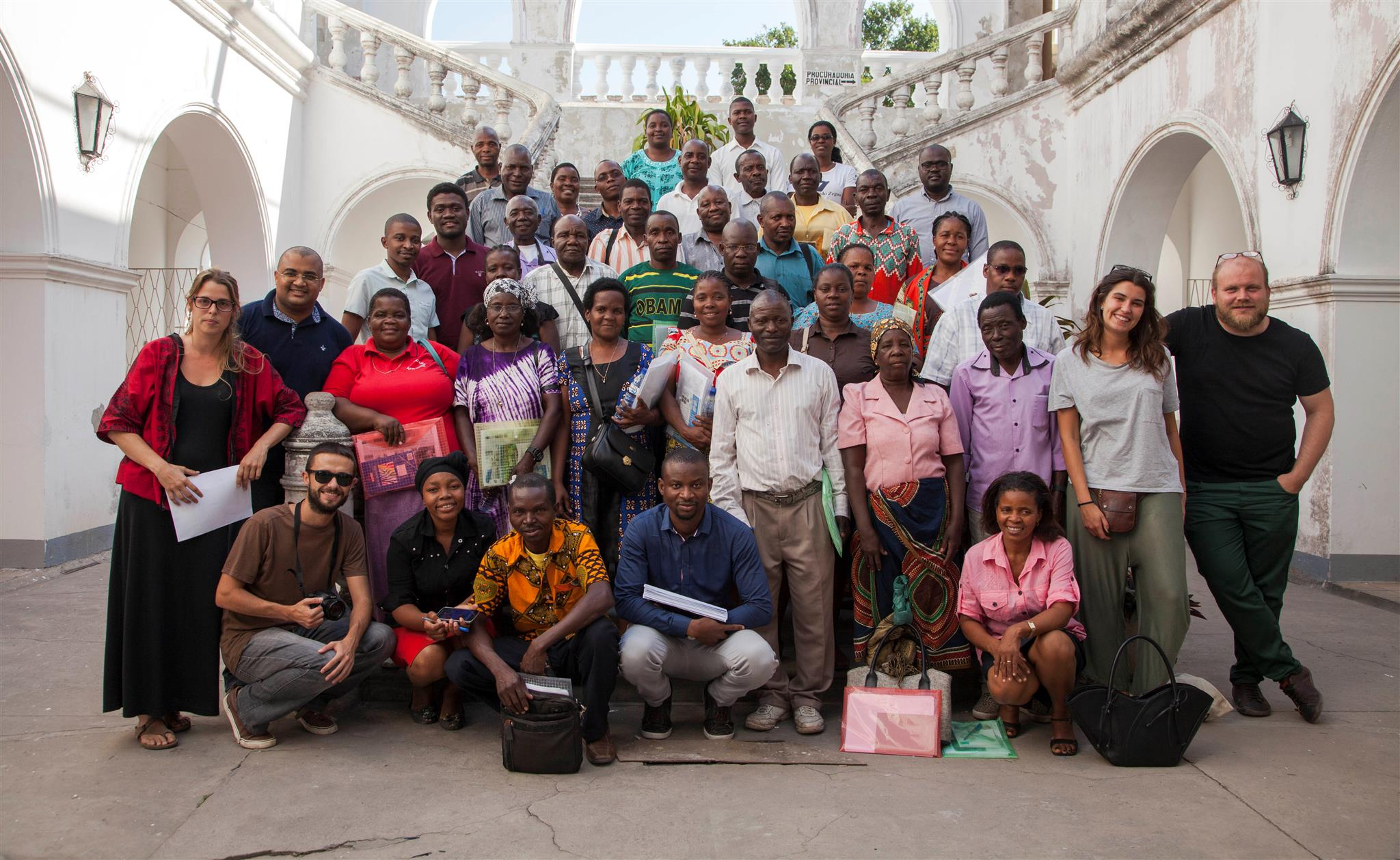 Agraïment A Les Persones Que Han Participat En El Projecte De Mercats A Inhambane