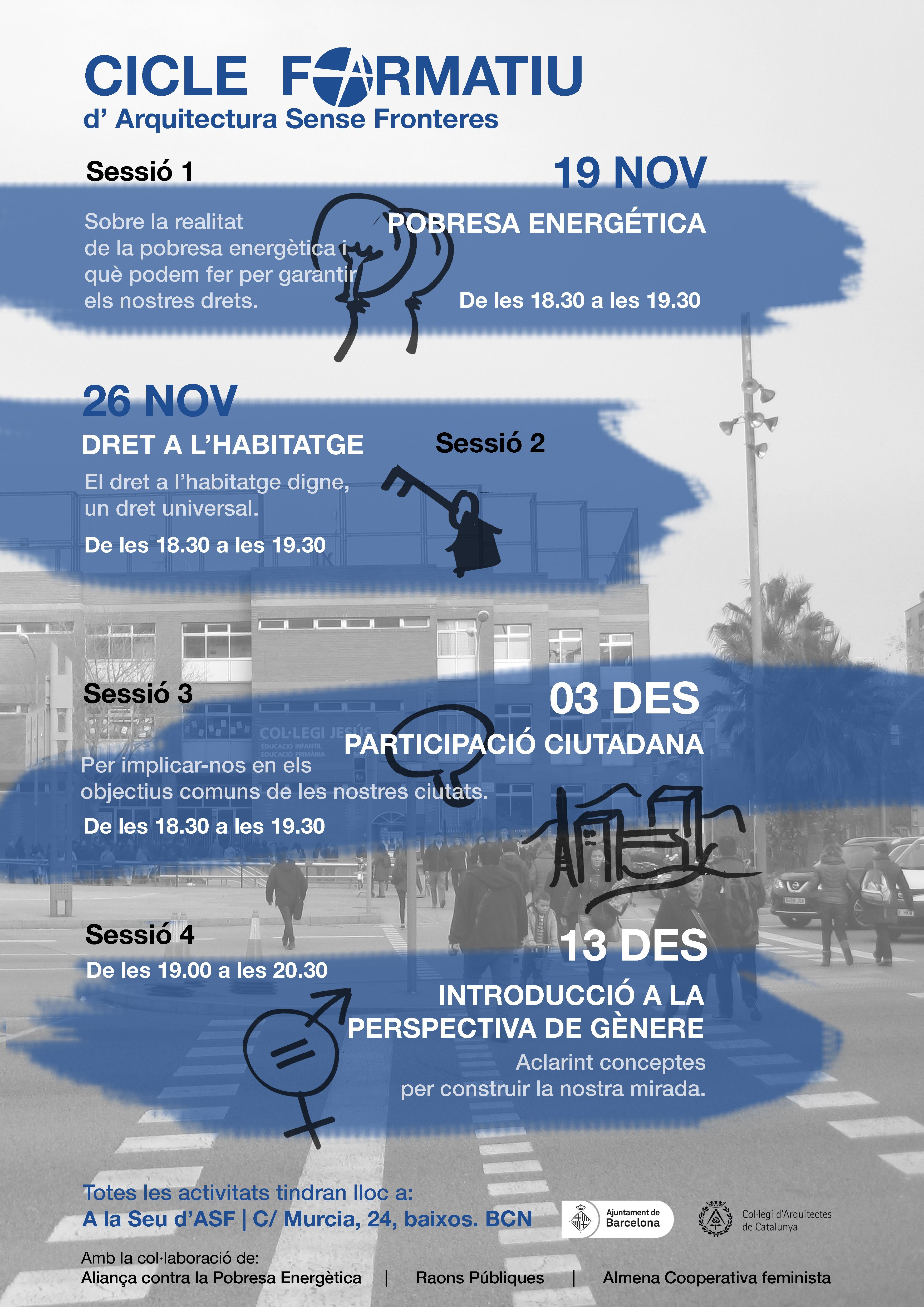 Cicle Formatiu Per Les Nostres Persones Voluntàries D'ASF-Catalunya