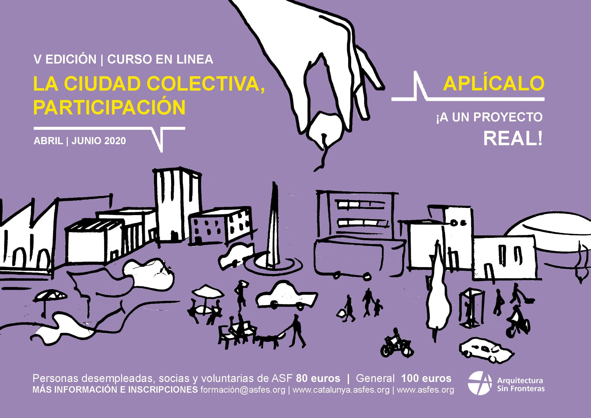 V EDICIÓN: LA CIUDAD COLECTIVA, PARTICIPACIÓN