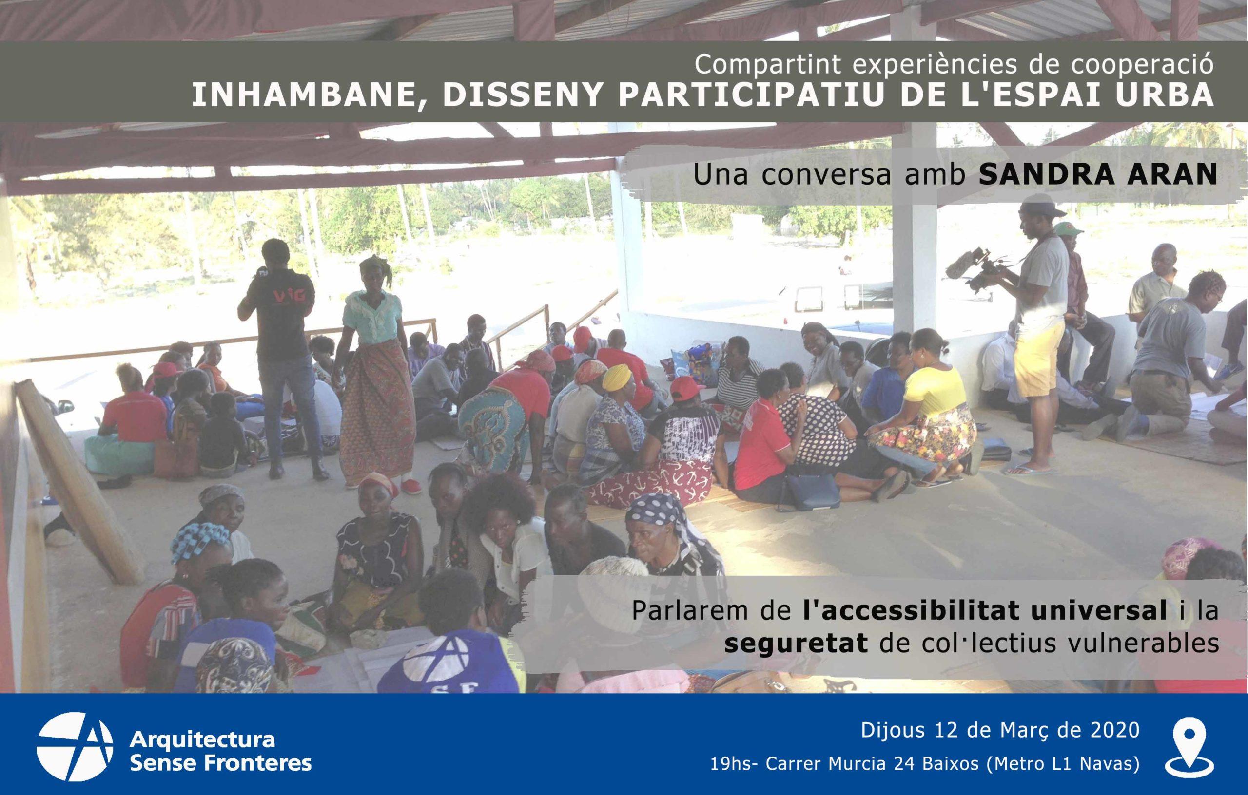 Compartint Experiències De Cooperació: Inhambane, Disseny Participatiu De L'espai Urbà