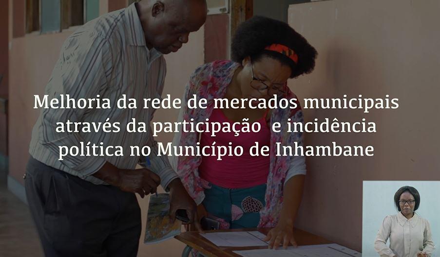 Millora De La Xarxa De Mercats Municipals A Través De La Participació I Incidència Política A Inhambane